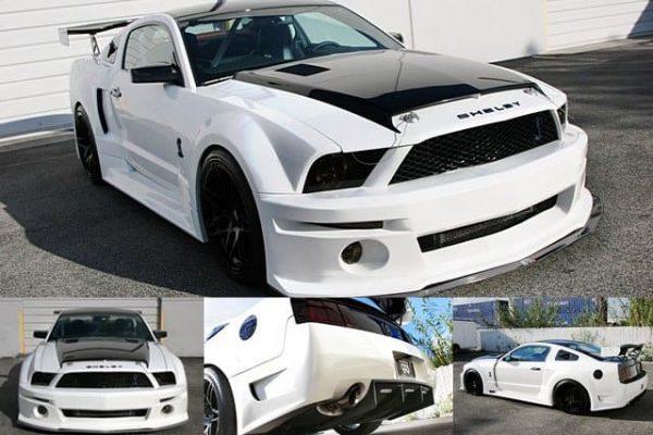 2007-2009 Ford Mustang GT500 Widebody Aerodynamic Body Kit