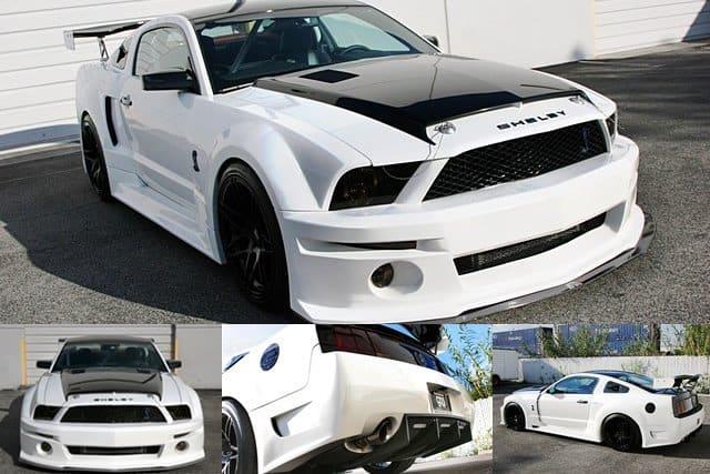 2007 2009 Ford Mustang Gt500 Widebody Aerodynamic Body Kit