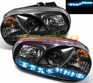 1999-2005 Volkswagen Golf IV DRL LED Projector Headlights