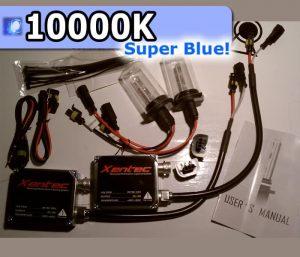 Complete HID Conversion Kit H11 - 10000K