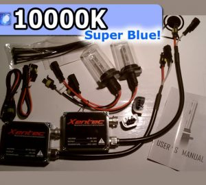 Complete HID Conversion Kit H13 - 10000K