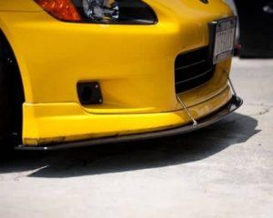 2000-2003 Honda S2000 Carbon Fiber Wind Splitter (without factory lip)