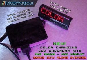 Plasmaglow Color Changing Control Box with LED Display