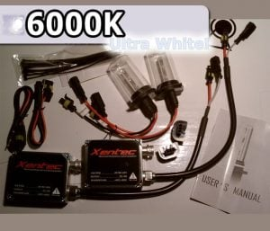 Complete HID Conversion Kit H7 - 6000K
