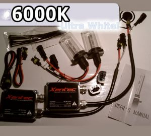 Complete HID Conversion Kit H10 - 6000K