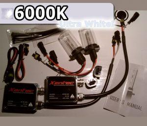 Complete HID Conversion Kit H4 - 6000K