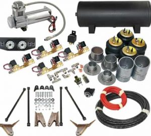 1967-1969 Chevrolet Camaro, Special 4-Link Complete Air Ride Kit