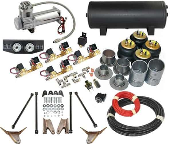 Air Bag Suspension Kits For Chevy Trucks >> 1956-1964 Ford F100, F150 Complete Air Suspension Kit - X2 Industries