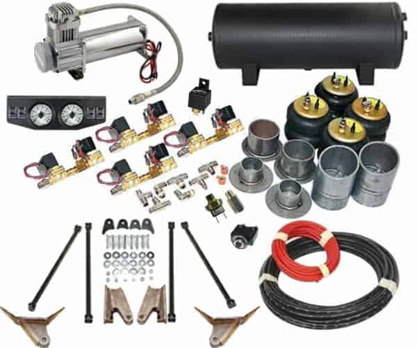 1940-1949 Oldsmobile Coupe Complete Air Suspension Kit