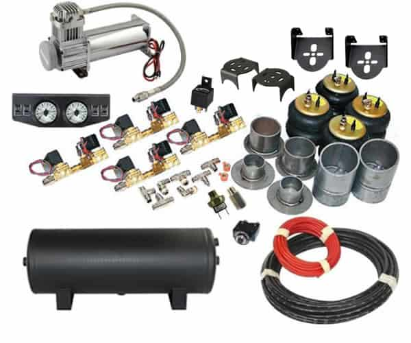 1997-2002 Ford Expedition, Navigator (4WD) Complete Air Suspension Kit