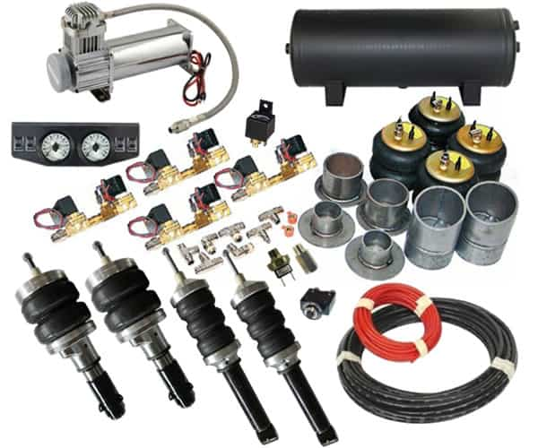 2006-2007 Dodge Caravan, Voyager, Town and Country Complete Air Suspension Kit