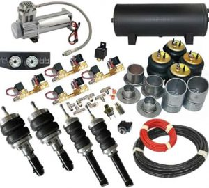 2008-2009 Dodge Caravan, Voyager, Town and Country Complete Air Suspension Kit