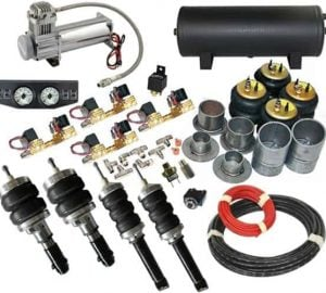 2007-2009 Chevrolet Silverado, Sierra, C1500 Complete Air Ride Kit