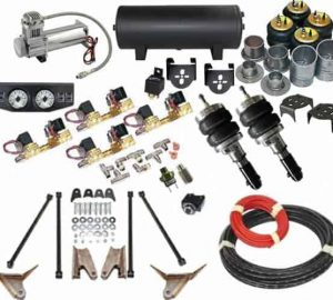 2007-2012 Dodge Ram 1500 4WD Complete Air Suspension Kit