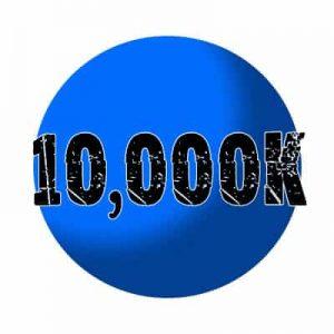 10000k