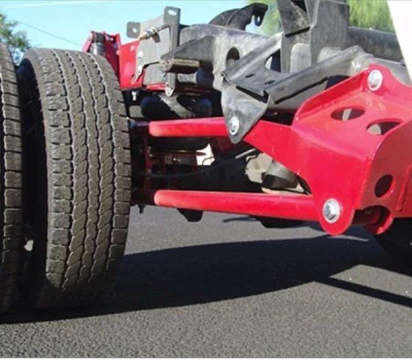 2003-2013 Dodge Ram 2500, 3500, Dually Rear Bolt-On Air Suspension Kit **UPGRADE**