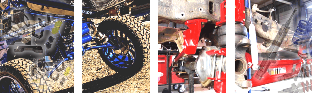 Custom Air Ride Suspension, Fixed Static Suspension, Drop and Lift Suspension Parts and Kits for your Car, Truck or SUV.