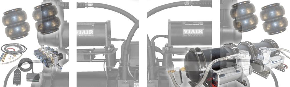 Custom Plug & Play Air Suspension Kits - X2 Industries on