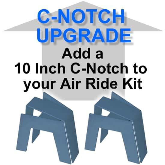 10″ Super Rear Axle C-Notch/Bridge - Needs Fabrication **UPGRADE**