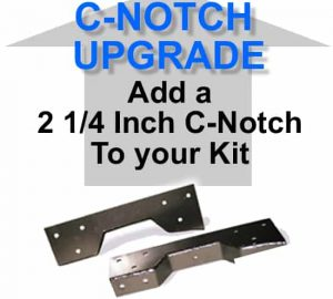 2 1/4″ Standard Rear Axle C-Notch **UPGRADE**