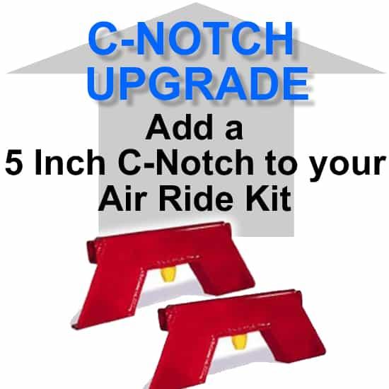 5″ Super-C Rear Axle C-Notch **UPGRADE**