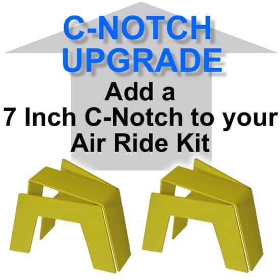 7″ Super Rear Axle C-Notch/Bridge - Needs Fabrication **UPGRADE**