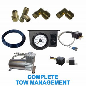 Complete Tow Assist Air Management Kit (Load Leveling Air Supply System)