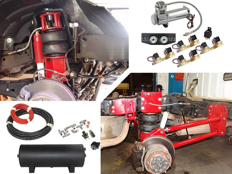 2008-2011 Ford F250, F350 4WD Complete Air Suspension Kit (super duty)