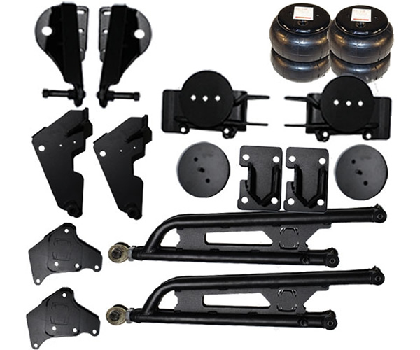 1999-2004 FORD F250, F350, Excursion 4WD Front Air Suspension Kit (no fittings) - Bolt On