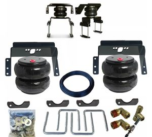 2011-2016 Ford F350 4WD Tow Assist Helper Air Bag Kit (Manual Fill Kit Included)