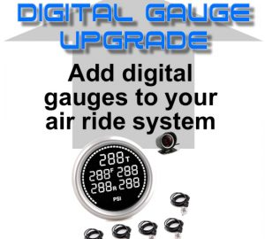 Digital Pressure Gauge Display & Sending Units – 200psi – 5 Zone **UPGRADE**