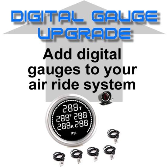 Digital Pressure Gauge Display & Sending Units - 200psi - 5 Zone **UPGRADE**
