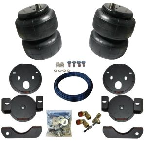 1999-2006 Chevrolet Silverado 1500 2wd & 4wd Pickup Tow Assist Helper Air Bag Kit (Manual Fill Kit Included)