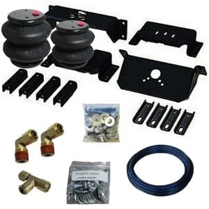 1994-2002 Dodge Ram 2500 Tow Assist Helper Air Bag Kit (Manual Fill Kit Included)