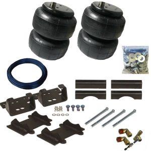 2014-2019 Dodge Ram 3500 Tow Assist Helper Air Bag Kit (Manual Fill Kit Included)
