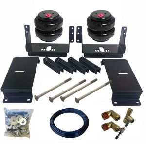 1988-1998 Chevrolet 1500, Silverado Tow Assist Helper Air Bag Kit (Manual Fill Kit Included)