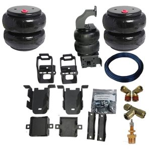 1999-2005 Ford F250, F350, SuperDuty Tow Assist Helper Air Bag Kit (Manual Fill Kit Included)