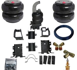 2005-2010 Ford F250, F350, SuperDuty Tow Assist Helper Air Bag Kit (Dually Only) (Manual Fill Kit Included)
