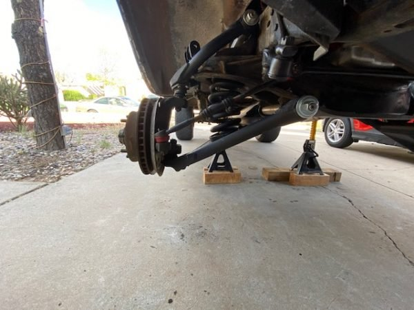 1998-2006 Ford Ranger Front Lift Kit W/ Upper and Lower Control Arms