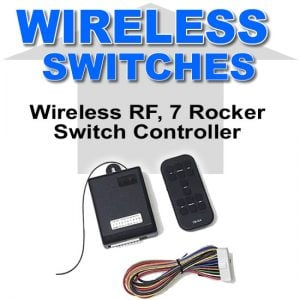 RF Wireless 7 Switch Controller and Module **UPGRADE**