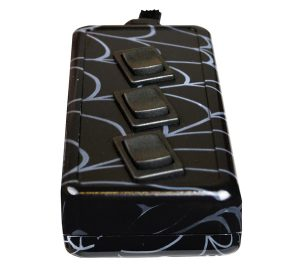 3-ROCKER Universal Air Ride Switch Controller – Spider Web (Hydro Dipped)
