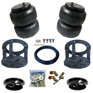 2004-2009 Nissan Armada, Q56 Tow Assist Helper Air Bag Kit (Manual Fill Kit Included)