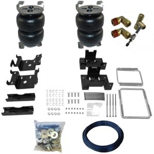 2004-2009 Nissan Titan Tow Assist Helper Air Bag Kit (Manual Fill Kit Included) (3 Inch Taller)