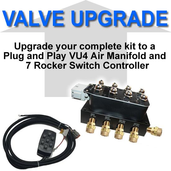 VU4 Valve Block and 7 Rocker Switch Controller **UPGRADE**