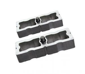 1″ Universal Lift Block Kit with U-Bolts