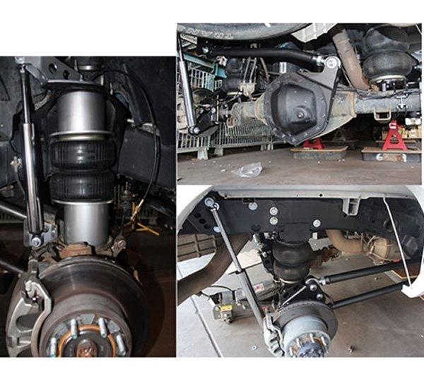 1994-2002 Dodge Ram 1500, 2500, 3500 Plug and Play Air Suspension Kit (Single Wheel, 4WD Only)