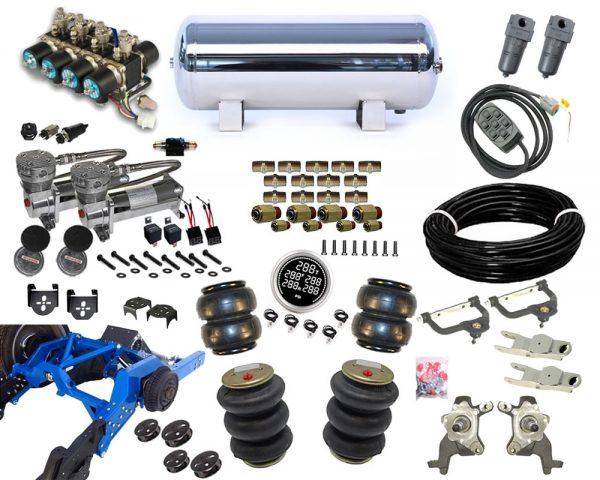 1986-1993 Mazda B2000, B2200, B2600 Plug and Play Air Suspension Kit – Street Scraper