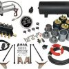 FBSS Electronic Air Suspension Kit With Triangulated 4 Links, Bags & Brackets