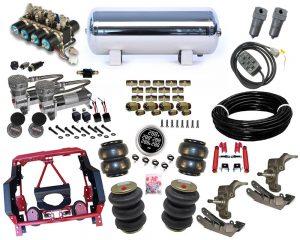 1979-1986 Dodge Ram D50 Plug and Play Air Suspension Kit – Street Scraper