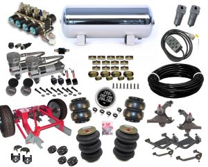1988-1998 Chevrolet C1500, C2500, Silverado, Sierra Plug and Play Air Suspension Kit – Street Scraper